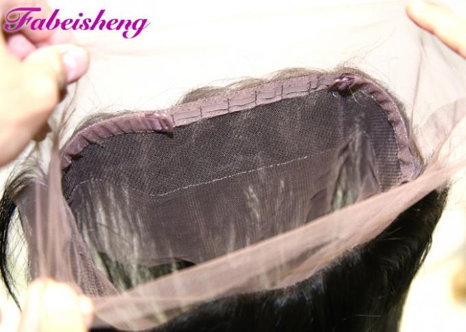 100% Brazilian Remy Virgin Hair 360 Lace Frontal Closure 10 - 22 Inch