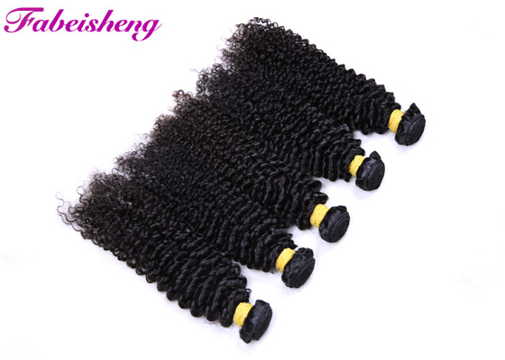 9A Brazilian Human Virgin Hair Weave , Unprocessed Curly Virgin Hair Extensions