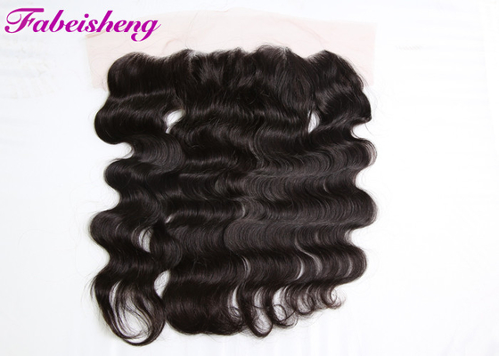 Natural Color Curly Lace Frontal Closure , 13*4 Lace Frontal Closure With Baby Hair