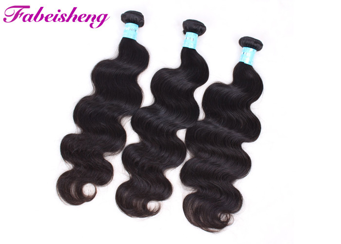 Body Wave Virgin Brazilian Hair Extensions 10 Inch 40 Inch Human