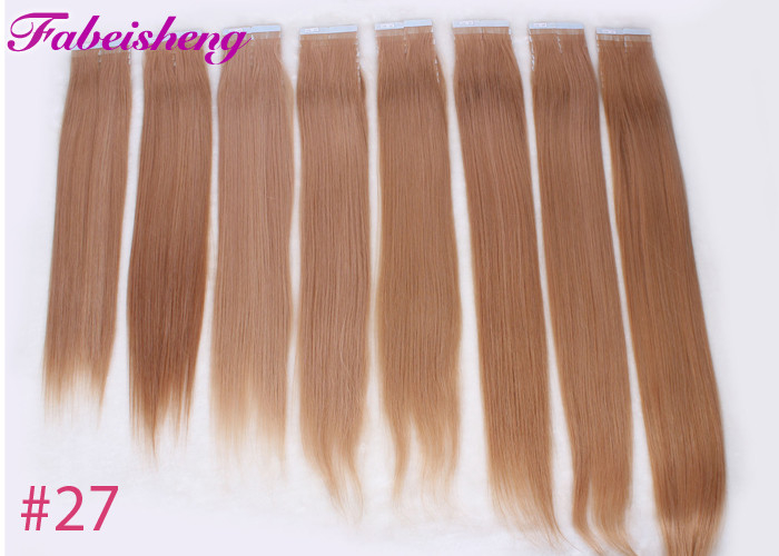 Brazilian Virgin Seamless Tape In Hair Extensions One Donor Full Cuticle