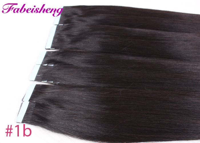 9a Virgin Russian Black Tape In Hair Extensions Silky Straight
