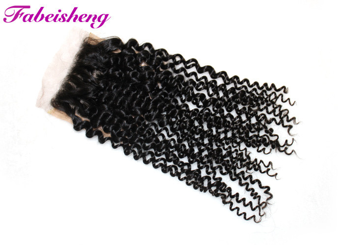 Free Part Lace Silk Base Lace Closure Brazilian Yaki Hair Bleached Knots