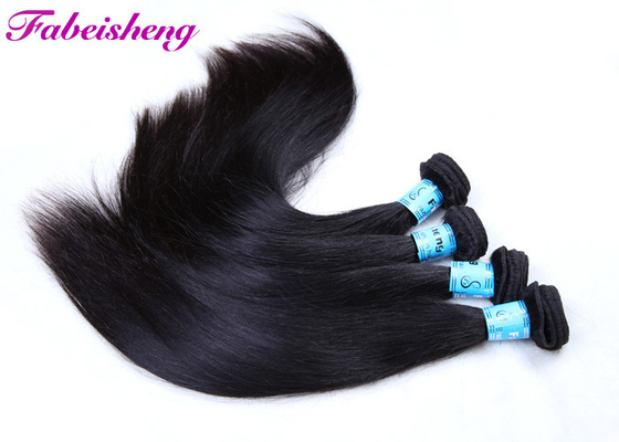Cuticle Aligned Virgin Vendors Human Hair Extensions / Brazilian Hair Bundles