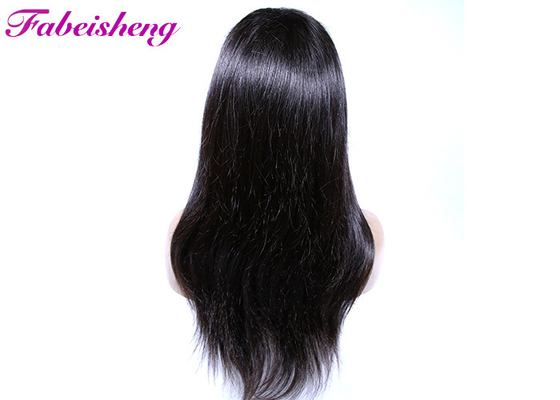 Indian Human Hair No Shedding Full Lace Wigs Natural Straight 10A Grade