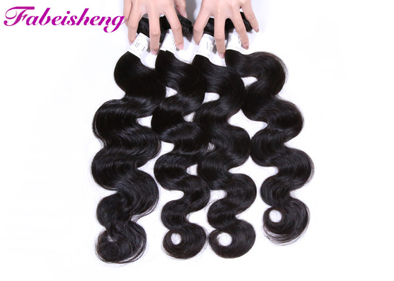 China 100% Virgin Peruvian Hair Body Wave Bundle Soft Natural Color For Black Women factory