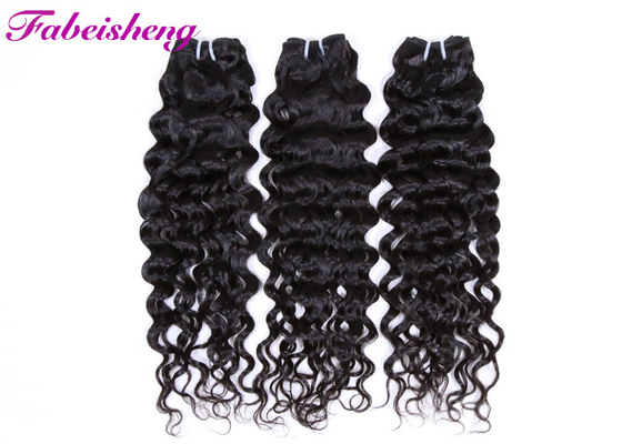 Smooth 100% Virgin Peruvian Curly Hair Bundles /  Italian  Wave