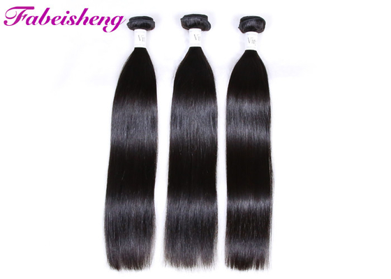 "No Shedding Virgin Peruvian Straight Hair Extensions 8""~40""Length"
