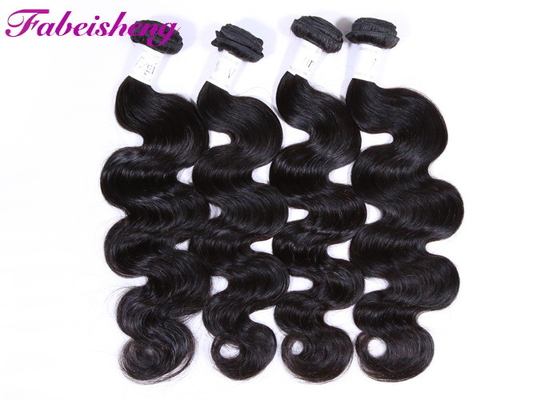 "No Shedding 100% Human Virgin Hair Body Wave Bundles 30"" For Young Girl"