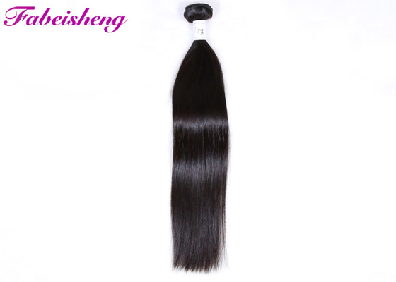 No Chemical Virgin Malaysian Hair Wave / Natural Straight Hair Extensions