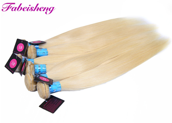 36 Inch Silky Blonde 613 Straight Virgin Hair Extensions